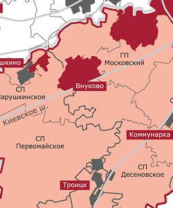 Проект согласованных предложений властей столицы и области по расширению границ Москвы